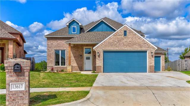 13617 Brampton Way, Yukon, OK 73099 (MLS #884257) :: Homestead & Co
