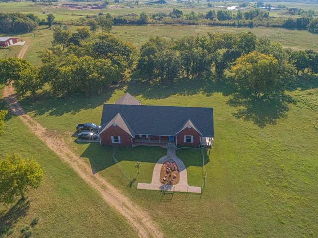 2400 S Camp Bond Road, Tishomingo, OK 73460 (MLS #884335) :: Homestead & Co