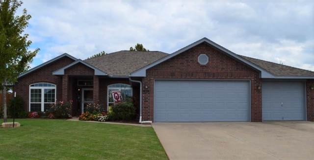 2201 Headwind Drive, Purcell, OK 73080 (MLS #885348) :: Erhardt Group at Keller Williams Mulinix OKC