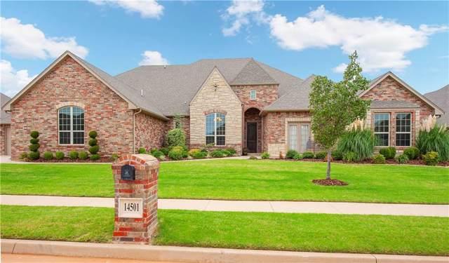 14501 Sedona Drive, Oklahoma City, OK 73142 (MLS #885833) :: KING Real Estate Group
