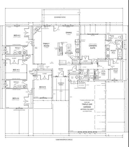 10300 Maverick Circle, Oklahoma City, OK 73169 (MLS #886133) :: Erhardt Group at Keller Williams Mulinix OKC
