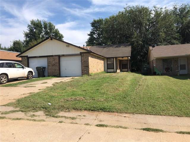 262 Windsor Way, Midwest City, OK 73110 (MLS #886313) :: KING Real Estate Group