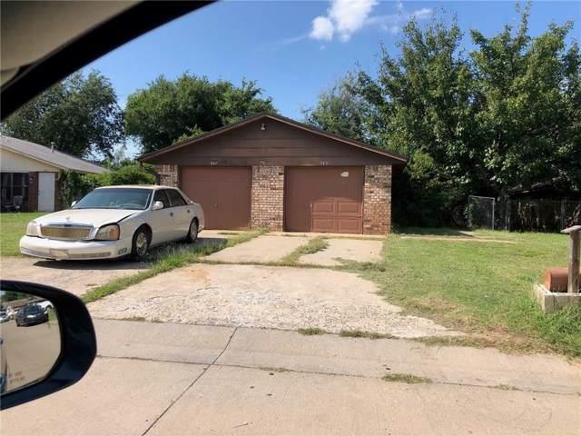 245 Windsor Way, Midwest City, OK 73110 (MLS #886319) :: Homestead & Co