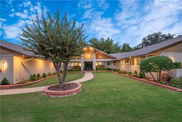 1404 Glenbrook Terrace, Nichols Hills, OK 73116 (MLS #886499) :: Erhardt Group at Keller Williams Mulinix OKC