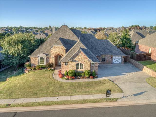 2701 Stetson Drive, Edmond, OK 73034 (MLS #886627) :: KING Real Estate Group