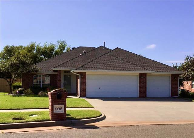 10205 Queensbury Drive, Yukon, OK 73099 (MLS #886691) :: Homestead & Co