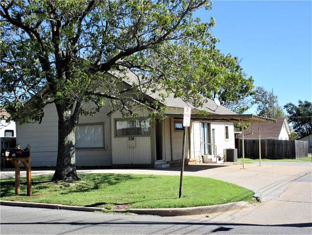 116 N Caddo Street, Weatherford, OK 73096 (MLS #886807) :: Homestead & Co