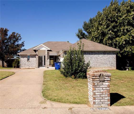 1701 Overland Trail, Choctaw, OK 73020 (MLS #886833) :: KING Real Estate Group