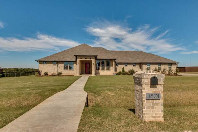 4801 Hillside Lane, Edmond, OK 73025 (MLS #886880) :: KING Real Estate Group