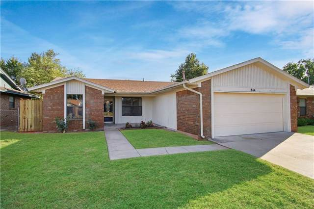 814 W Forster Drive, Mustang, OK 73064 (MLS #886891) :: Homestead & Co