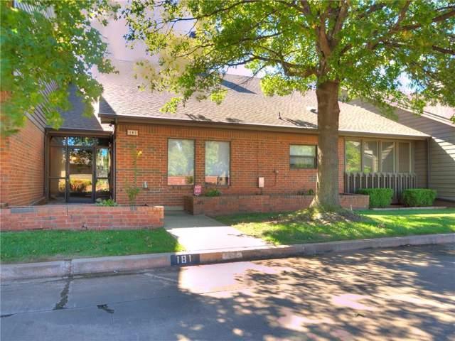 11300 N Pennsylvania Avenue #181, Oklahoma City, OK 73120 (MLS #887003) :: Erhardt Group at Keller Williams Mulinix OKC