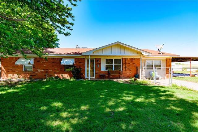 17233 E County Road 1500, Lindsay, OK 73052 (MLS #887035) :: Homestead & Co
