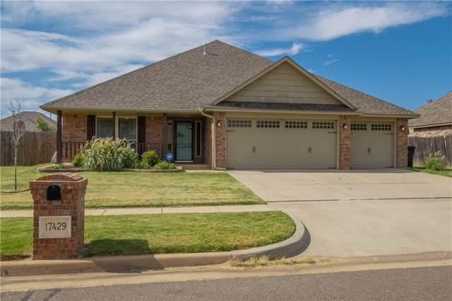 17429 White Hawk Drive, Edmond, OK 73012 (MLS #887127) :: KING Real Estate Group