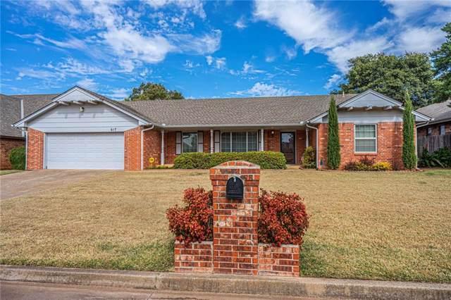617 SW 103rd Place, Oklahoma City, OK 73139 (MLS #887210) :: Homestead & Co