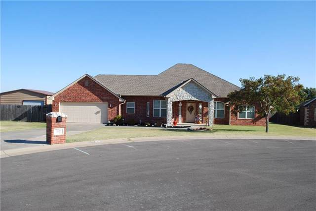 100 Kyle Court, Washington, OK 73093 (MLS #887482) :: Erhardt Group at Keller Williams Mulinix OKC