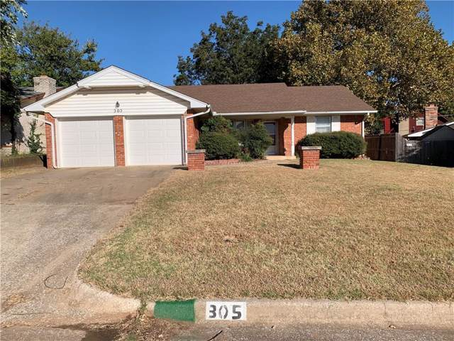 305 W Blueridge Drive, Midwest City, OK 73110 (MLS #887625) :: Homestead & Co