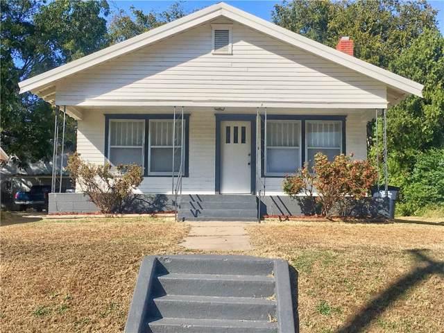 116 E Kirk Street, Shawnee, OK 74801 (MLS #887707) :: Erhardt Group at Keller Williams Mulinix OKC
