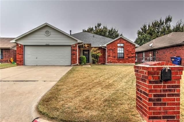 1045 N Ridgecrest Way, Mustang, OK 73064 (MLS #888232) :: Homestead & Co