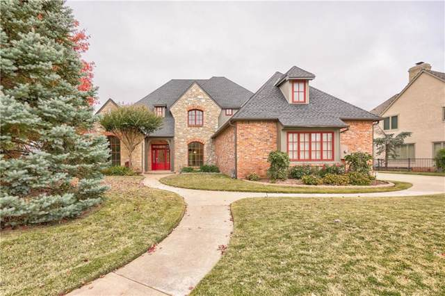341 Heritage Boulevard, Edmond, OK 73025 (MLS #888887) :: Homestead & Co