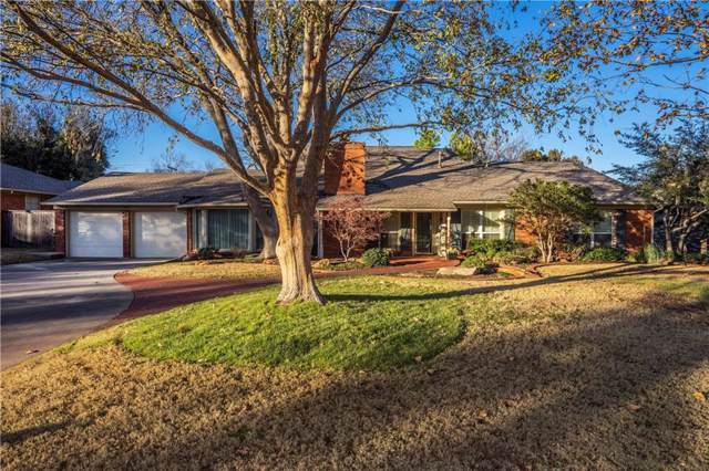 1807 Drakestone, Nichols Hills, OK 73120 (MLS #889041) :: Homestead & Co