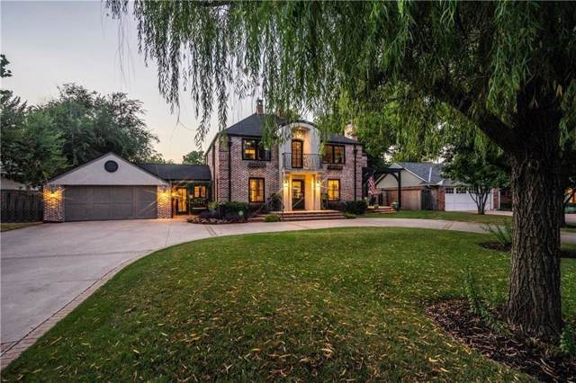 1209 Larchmont Lane, Nichols Hills, OK 73116 (MLS #889170) :: Homestead & Co