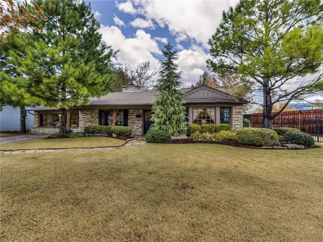 1101 Larchmont Lane, Nichols Hills, OK 73116 (MLS #889269) :: Homestead & Co