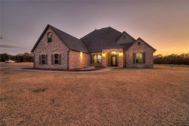 19004 S Rock Creek Road, Shawnee, OK 74801 (MLS #889606) :: Erhardt Group at Keller Williams Mulinix OKC