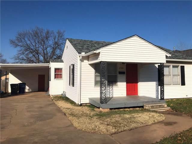 1524 W Iowa Street, Chickasha, OK 73018 (MLS #890182) :: Homestead & Co