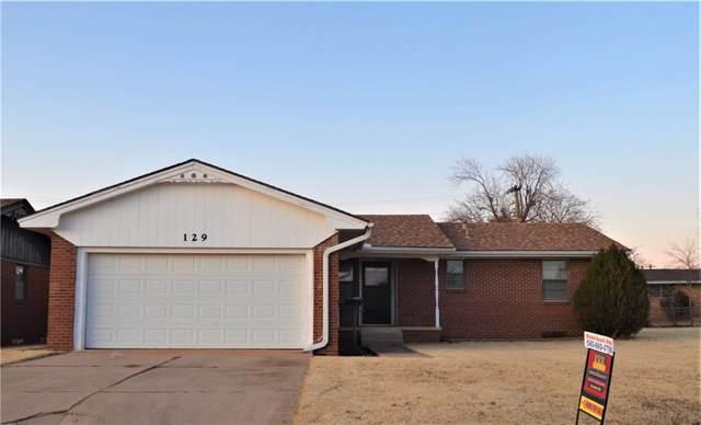 129 Florence Street, Cordell, OK 73632 (MLS #890371) :: Homestead & Co