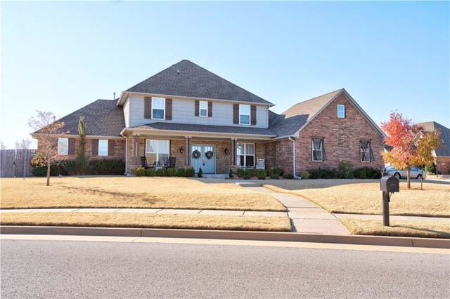 440 Newport Bridge Drive, Edmond, OK 73034 (MLS #890585) :: Homestead & Co