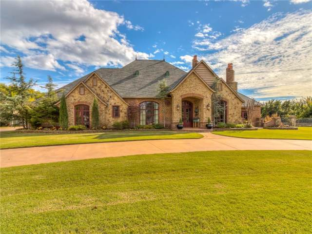 2708 W Mission Springs Drive, Edmond, OK 73012 (MLS #890705) :: Homestead & Co