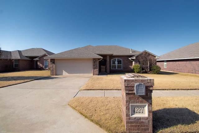 4221 Red Apple Terrace, Moore, OK 73160 (MLS #890904) :: Homestead & Co