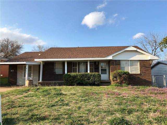 1113 Wilson Avenue, Clinton, OK 73601 (MLS #891098) :: Homestead & Co