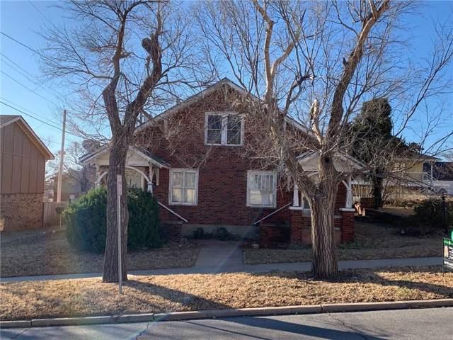 110 E Huber, Weatherford, OK 73096 (MLS #891122) :: Homestead & Co