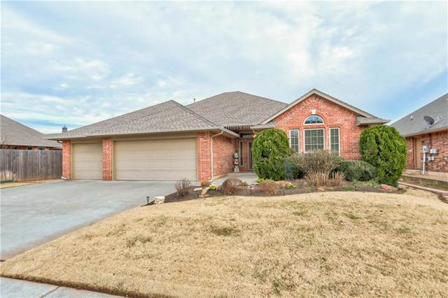1110 Jacob Drive, Moore, OK 73160 (MLS #891272) :: KING Real Estate Group