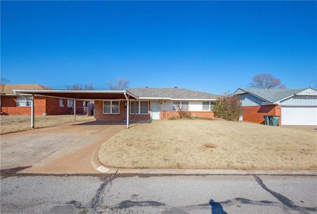 3221 Del Road, Del City, OK 73127 (MLS #891279) :: Homestead & Co
