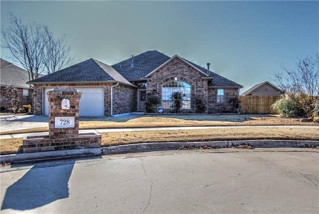 728 W Carson Drive, Mustang, OK 73064 (MLS #891540) :: Homestead & Co