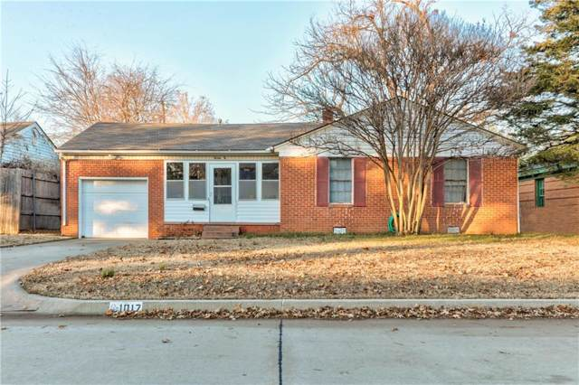 1017 E Louisiana Street, Norman, OK 73071 (MLS #891556) :: Erhardt Group at Keller Williams Mulinix OKC