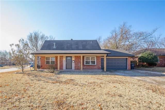 1801 Bellaire Circle, Moore, OK 73160 (MLS #891570) :: Homestead & Co
