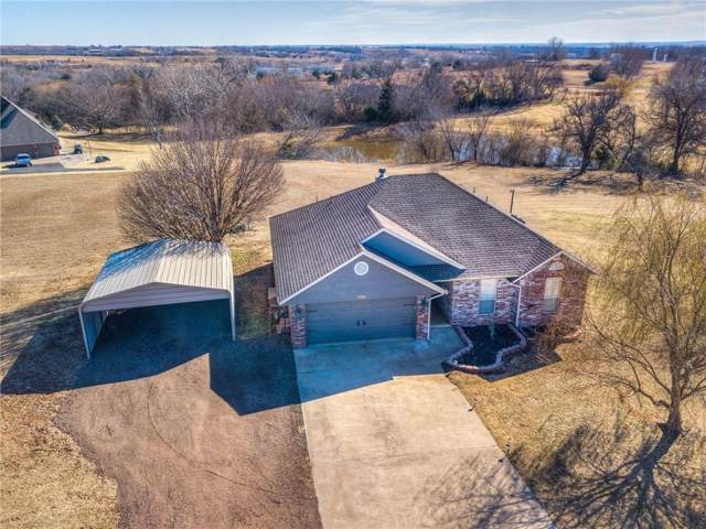 12344 Bear Drive, Lindsay, OK 73052 (MLS #891718) :: Homestead & Co