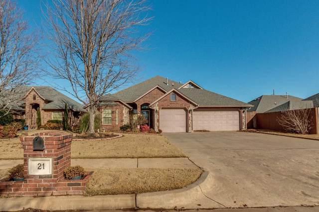 21 SW 169th Street, Oklahoma City, OK 73170 (MLS #891964) :: Homestead & Co