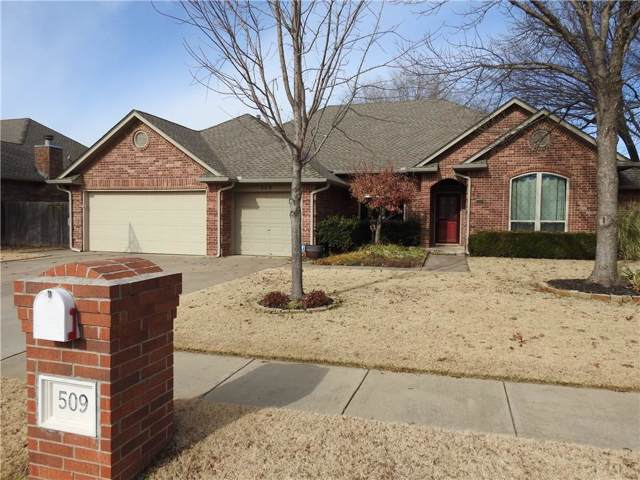 509 Sparrow Hawk, Edmond, OK 73003 (MLS #892106) :: Erhardt Group at Keller Williams Mulinix OKC