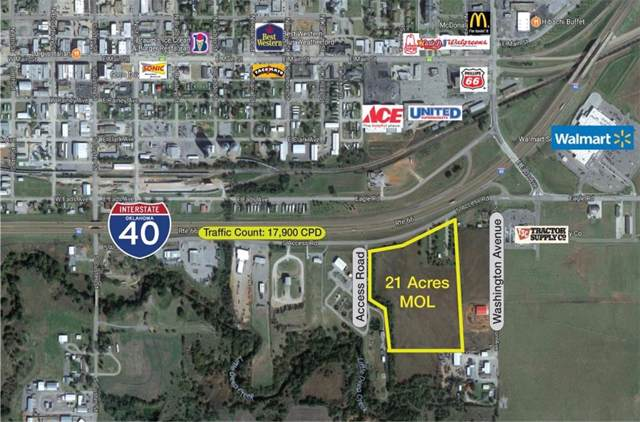 1000 E Eagle Rd/S. Acess Rd Road, Weatherford, OK 73096 (MLS #892149) :: Erhardt Group at Keller Williams Mulinix OKC