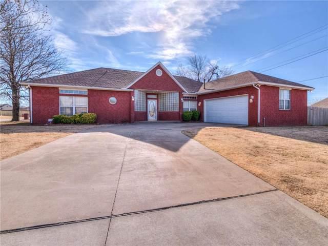128 Highland Drive, Moore, OK 73160 (MLS #892382) :: Homestead & Co