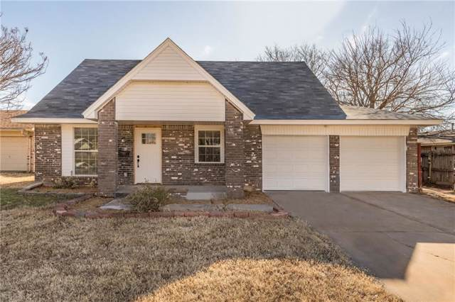 3404 Hillside Drive, Del City, OK 73115 (MLS #892408) :: Homestead & Co