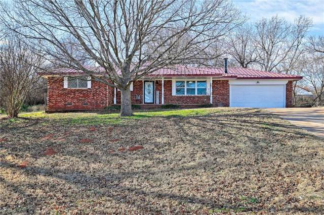 605 N Santa Fe Avenue, Purcell, OK 73080 (MLS #892422) :: Homestead & Co