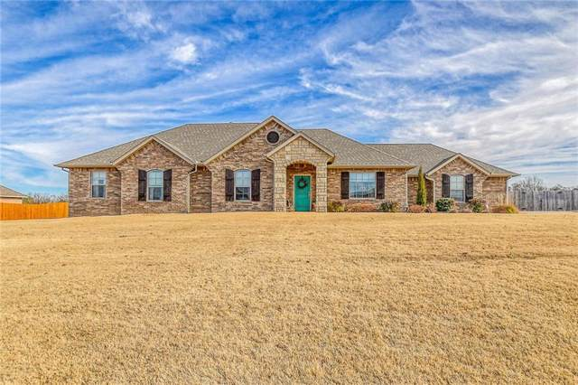 140 Oakridge Drive, Choctaw, OK 73020 (MLS #892428) :: Homestead & Co