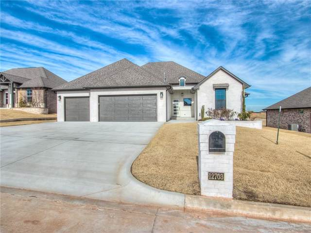 12703 Forest Terrace, Choctaw, OK 73020 (MLS #892443) :: Homestead & Co