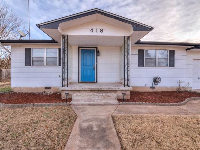 418 S 3rd Avenue, Byars, OK 74831 (MLS #892490) :: Homestead & Co