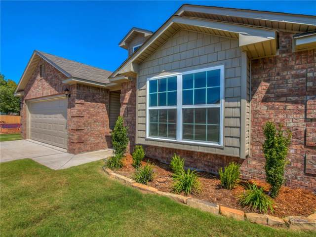 10704 SW 23rd Place, Yukon, OK 73099 (MLS #892667) :: Erhardt Group at Keller Williams Mulinix OKC